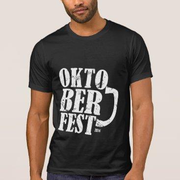 Oktoberfest 2014 - White distressed T-Shirt
