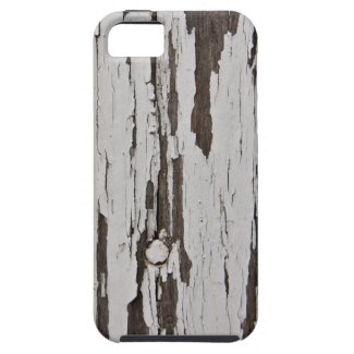 Old paint on wood iPhone 5 cases
