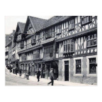 Old Postcard - Unicorn Hotel, Shrewsbury