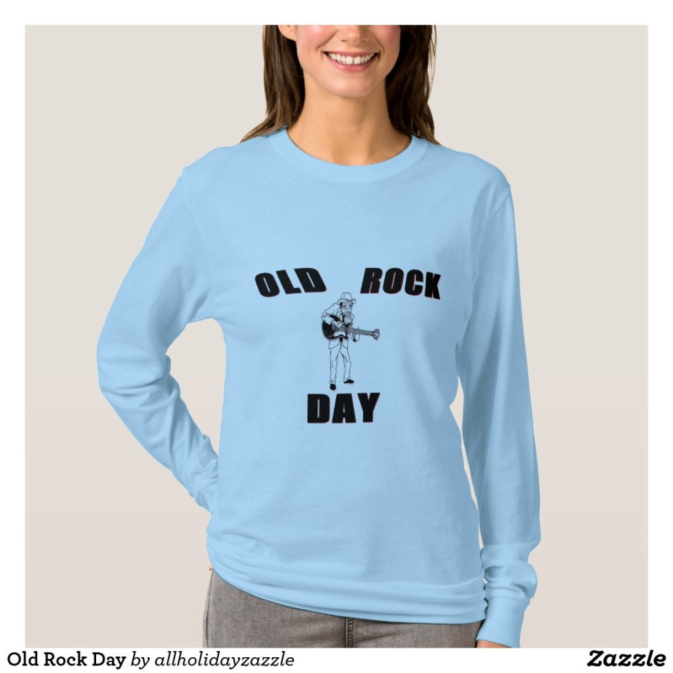 Old Rock Day T-Shirt