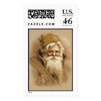 Old World Santa 2 stamp