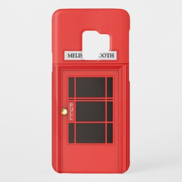 Oldschool British Telephone Booth Case-Mate Samsung Galaxy S9 Case