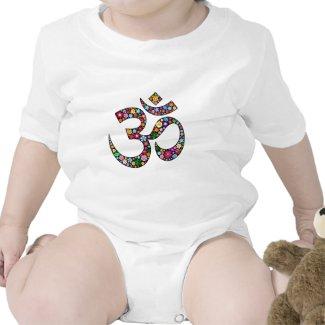 Om Aum Namaste Yoga Symbol T Shirt