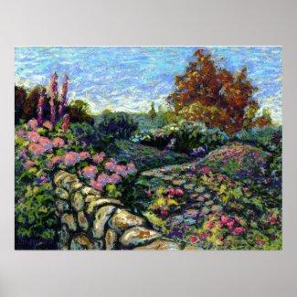 Omniseasonal Garden print