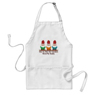 One By One The Gnomes Adult Apron