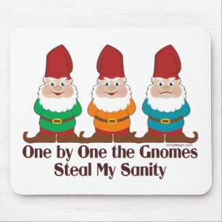 One By One The Gnomes Mouse Pad