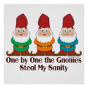 One by One The Gnomes Posters