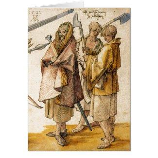 One Gallòglach and Two Kerns - Albrecht Dürer