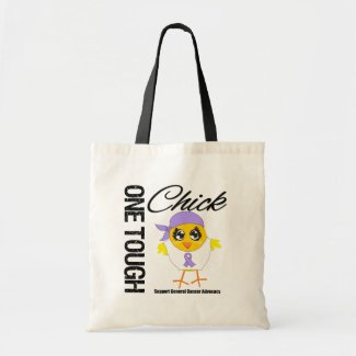 One Tough Chick General Cancer Warrior bag