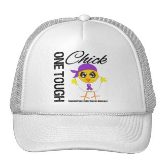 One Tough Chick Pancreatic Cancer Warrior hat