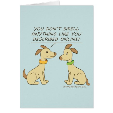 Online Dating Dog Humor