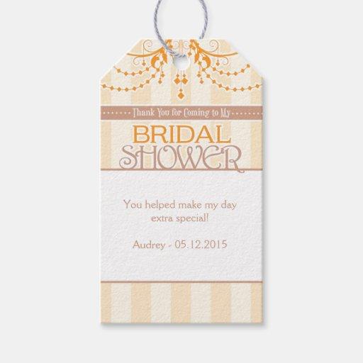 Bridal Shower Favor Tags