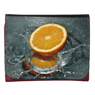 Orange Splash wallets