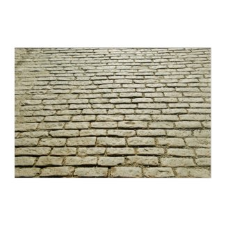 Original Cobblestone section of Jefferson Street Acrylic Print