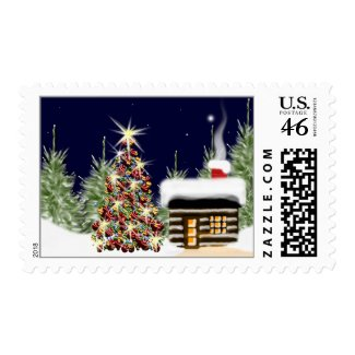 Ornament Christmas Holiday Tree stamp