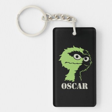 Oscar the Grouch Half Keychain