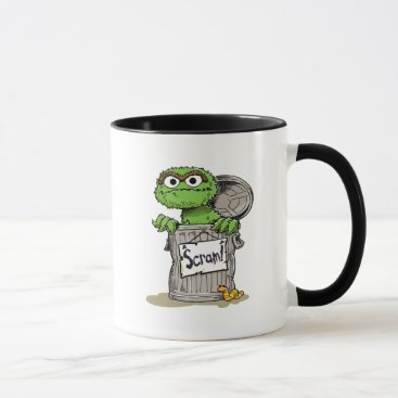 Oscar the Grouch Scram Mug