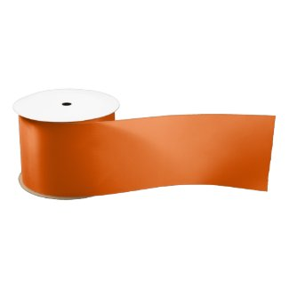 Outback Orange Satin Ribbon