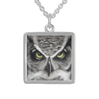 Owl Necklace by S.Lynnette