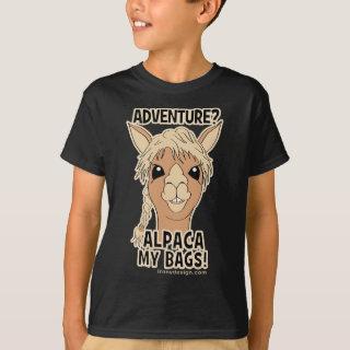 Pack My Bags Funny Alpaca Llama T-Shirt