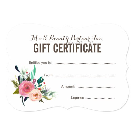 haircut gift certificate template voucher for haircut images