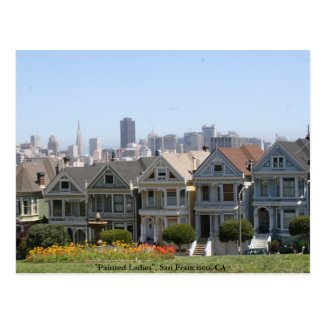 Painted Ladies, San Francisco Postcards