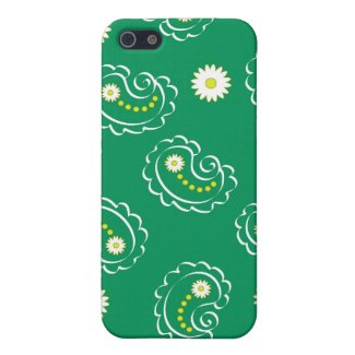 Paisley green - iPhone case iPhone 5 Cover