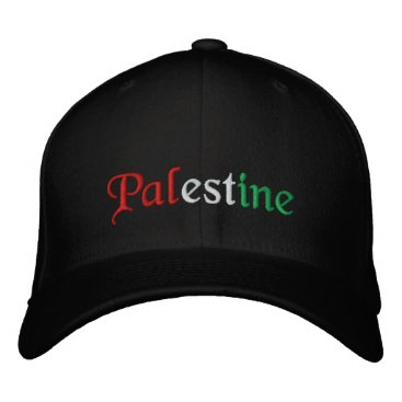 Palestine Embroidered Baseball Hat