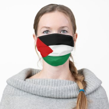 Palestine Flag Adult Cloth Face Mask