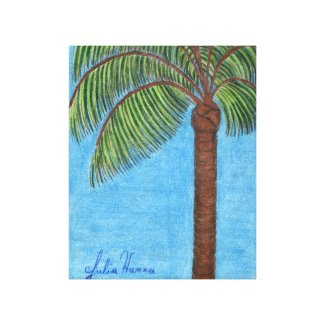 Palm Drawing by Julia Hanna