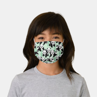 Panda Bears Graphic Kids' Cloth Face Mask
