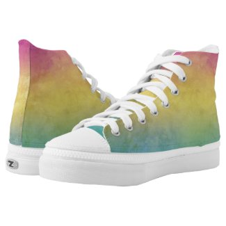 Pansexual Pride LGBT Printed Shoes