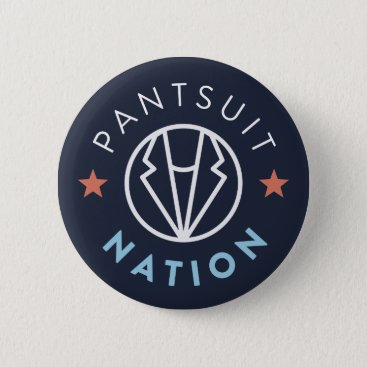Pantsuit Nation Button, Navy Button