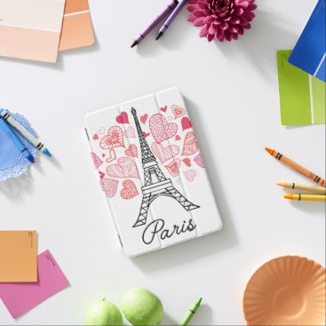 Paris, France Love iPad Mini Cover