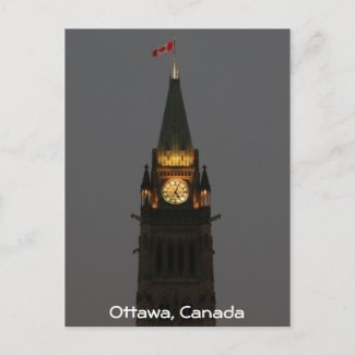 Parliament Buildings Ottawa - Post Card postcard