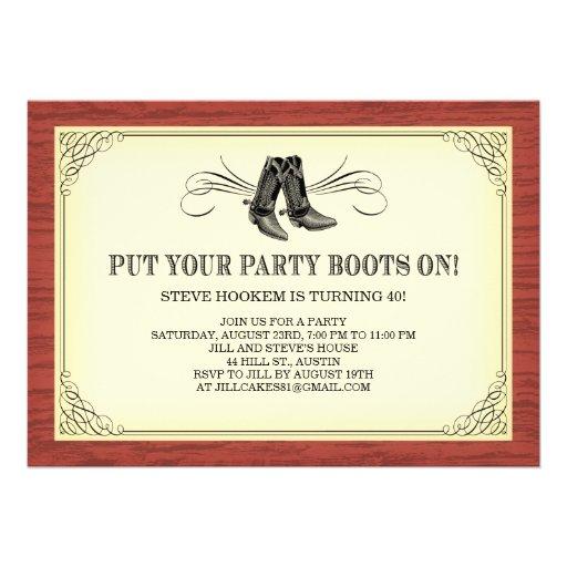 Free Western Invitation Templates free western wedding invitation – Free Western Wedding Invitation Templates
