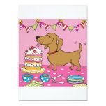 ❤️ Party dog invitation