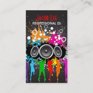 Party People DJ's Business Card