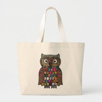 Patchwork Owl bag