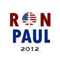Peace Ron Paul 2012 zazzle_button