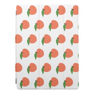 Peach Pattern iPad Pro Cover