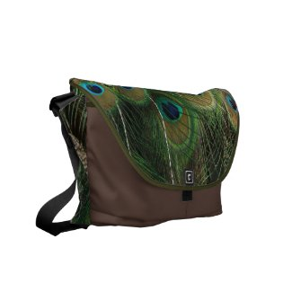 Peacock Beauty - Messenger Bag rickshawmessengerbag