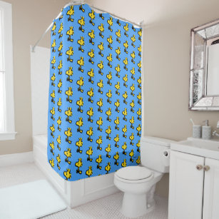brown yellow shower curtains zazzle