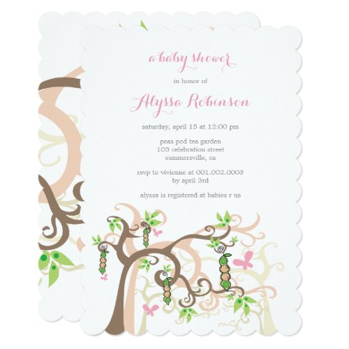 Invitation (Twin Baby Girls)