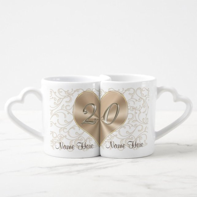 Personalized 20 year Anniversary Gifts for Couples