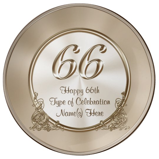 Personalized 66th Anniversary 66th Birthday Gifts