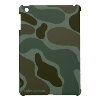 Personalized: Camouflage iPad Mini Case