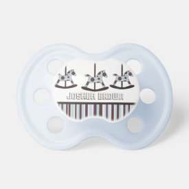 Personalized: Carousel Pacifier