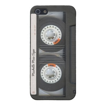 Personalized Cassette Retro Mix-Tape iPhone SE/5/5s Cover