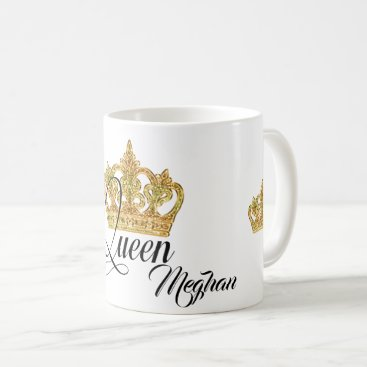 Personalized Crown Queen Coffee Mug